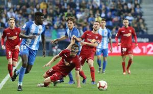 Al Málaga se le atraganta la segunda vuelta