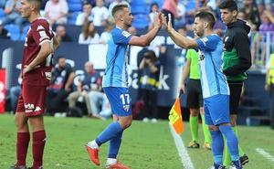 El Málaga sigue sin definirse por fuera