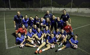 El filial, muy pendiente del desenlace de la Liga para el Málaga femenino