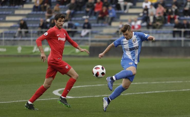 Victoria del Malagueño frente al Sevilla Atlético (3 - 0)