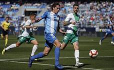 Las imágenes del enésimo drama en La Rosaleda: el Málaga cayó ante el Extremadura