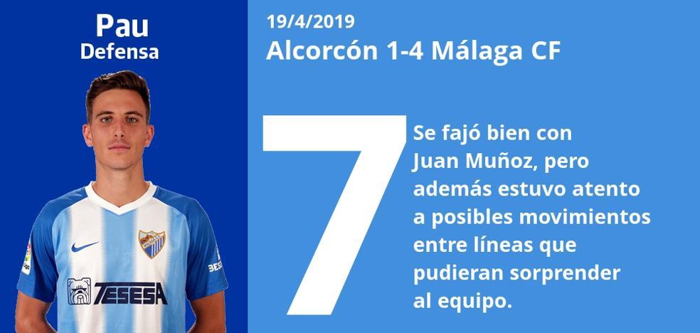 Notas a los jugadores del Málaga tras su victoria en Alcorcón
