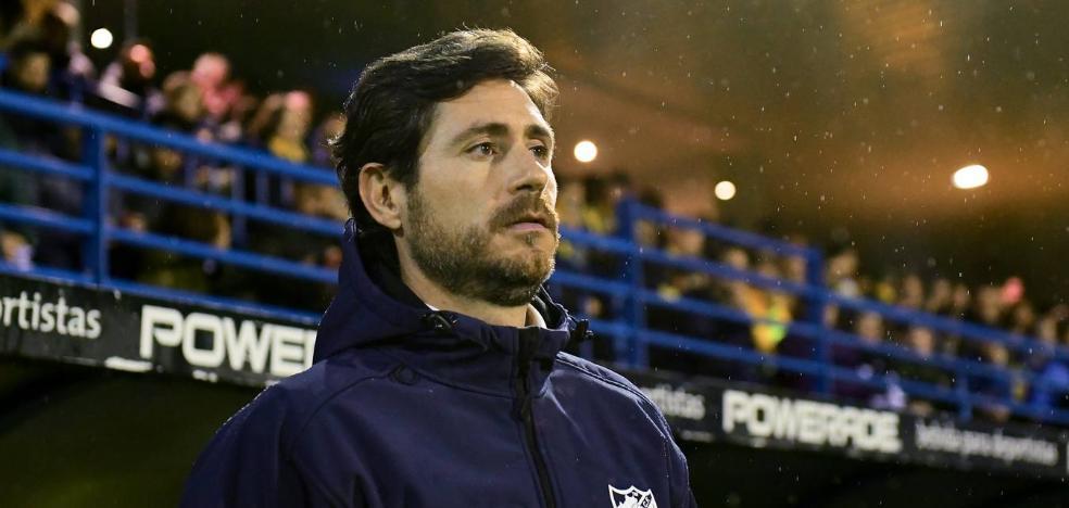 Víctor, el tercer mejor estreno fuera de un entrenador en la historia del Málaga
