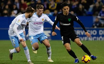 El Málaga-Zaragoza se adelanta al viernes 24, otra vez fuera del fin de semana
