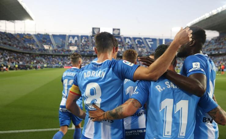 Las mejores imágenes del Málaga 3-0 Oviedo