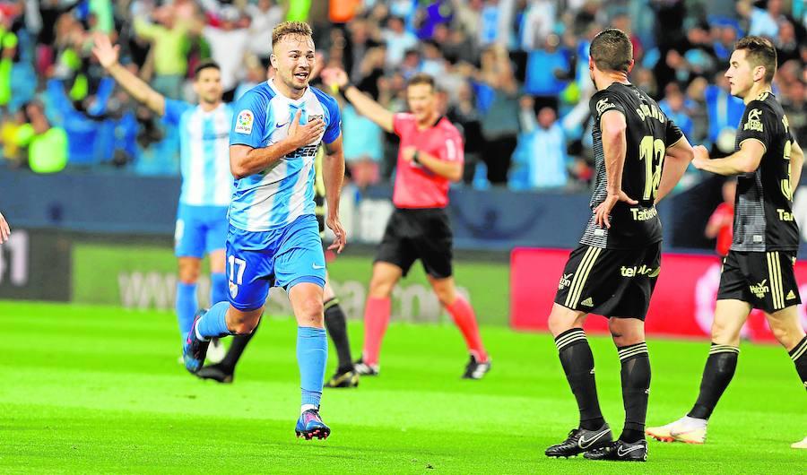 El Málaga dobla su apuesta goleadora