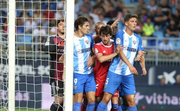 Las mejores imágenes del Málaga-Zaragoza en La Rosaleda