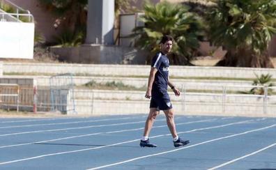 Víctor: «Estamos intentando que Munir y N'Diaye se queden lo máximo posible, y ojalá sea todo»