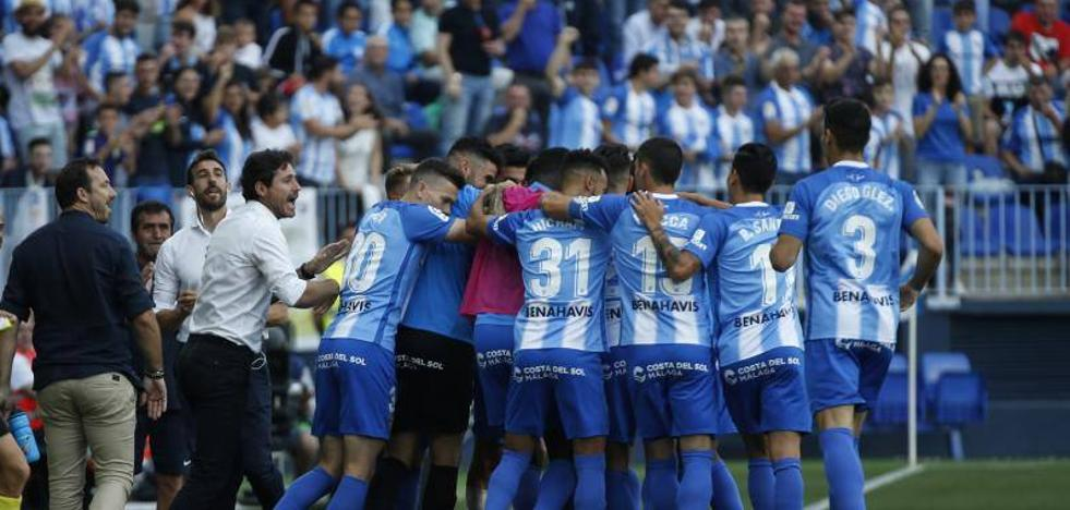 El Málaga despide el campeonato a lo grande, con goleada (3-0)