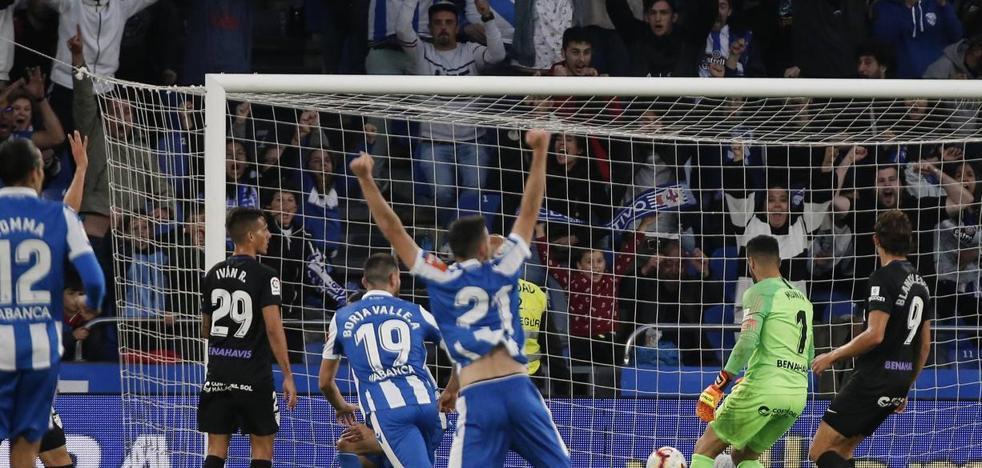 Duro castigo para el Málaga en el primer asalto de los 'play-off' (4-2)