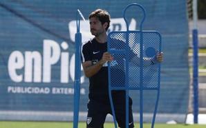 Víctor, entrenador del Málaga: «Nuestra filosofía es la misma, vamos a ir a ganar todos los partidos»