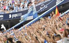 El mundo del fútbol se rinde a la afición del Málaga