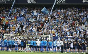 La campaña de abonados del Málaga comenzará el lunes 1 de julio