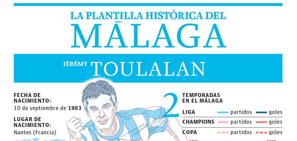 Toulalan, el factor de equilibrio en el Málaga de Pellegrini