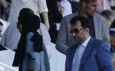 Un enviado del jeque Al-Thani llega a Málaga