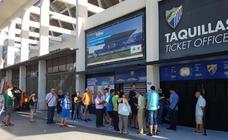 El Málaga cierra la primera jornada de la campaña con 6.300 abonados