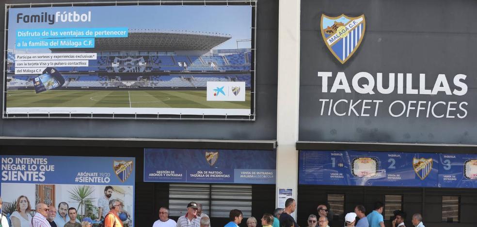 La afición, más enganchada al Málaga