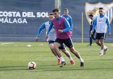 El Málaga negocia la ampliación del contrato de una de sus perlas, Hugo