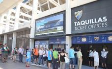 El Málaga llega a los 9.200 abonados en una semana