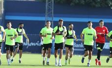 El primer entrenamiento de la temporada del Málaga, en imágenes