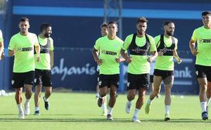 El Málaga vuelve con la planificación parada