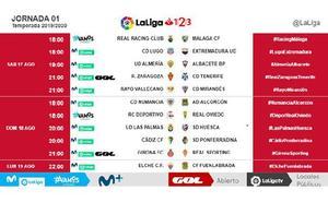 El Málaga ya conoce los horarios de las tres primeras jornadas de Liga