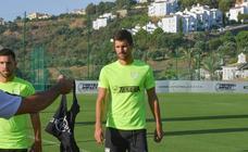 Entrenamiento del Málaga en el Behahavís