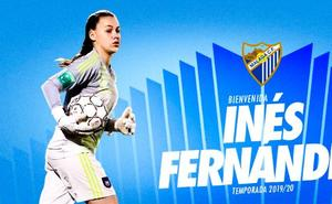 El Málaga ficha a Inés Fernández, la portera del Anderlecht