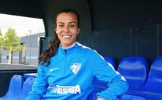 Raquel se despide del Málaga