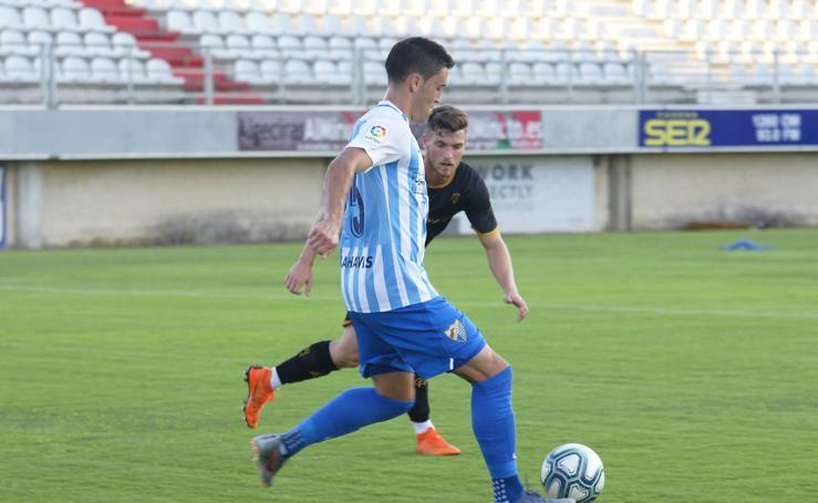 El Málaga empata en su primer amistoso de la pretemporada