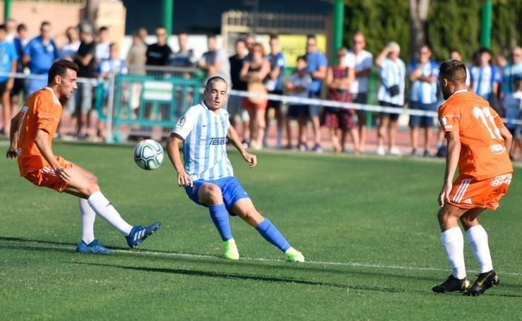 Las mejores imágenes del Málaga 1-1 Córdoba en Coín