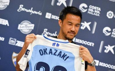 Okazaki:«Tenía varias ofertas, pero creo que he acertado con la del Málaga»