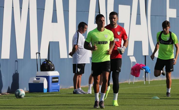 El Málaga regresa a los entrenamientos después del descanso del fin de semana