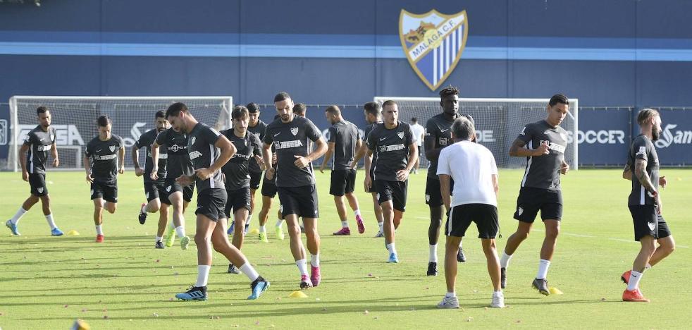 El Málaga pide calma en plena tempestad