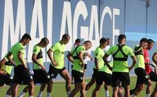 El Málaga, con veintiún jugadores a Cádiz