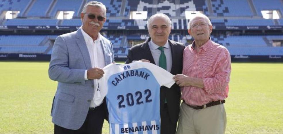 El Málaga renueva hasta 2022 su acuerdo de patrocinio con CaixaBank