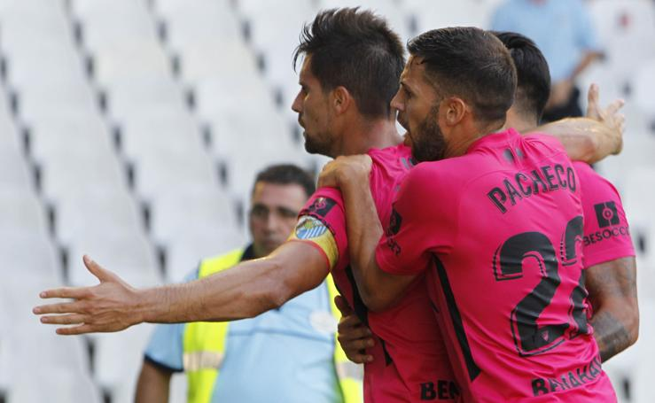 Las mejores imágenes del Racing-Málaga