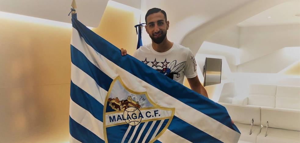 José Rodríguez es el segundo fichaje del Málaga esta temporada