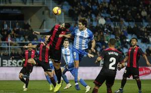El Málaga ganó en una situación más delicada que cualquiera del Reus