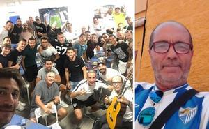 La historia detrás del aficionado malaguista que canta la actualidad del Málaga a ritmo de rumba