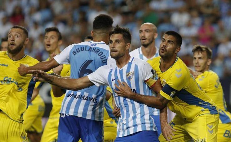 El Málaga empata con Las Palmas (1-1)