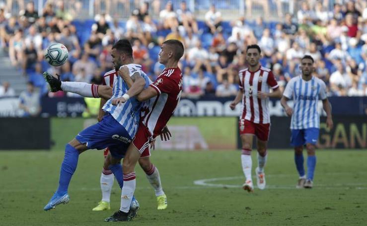 El Málaga pierde con el Almería (0-1)