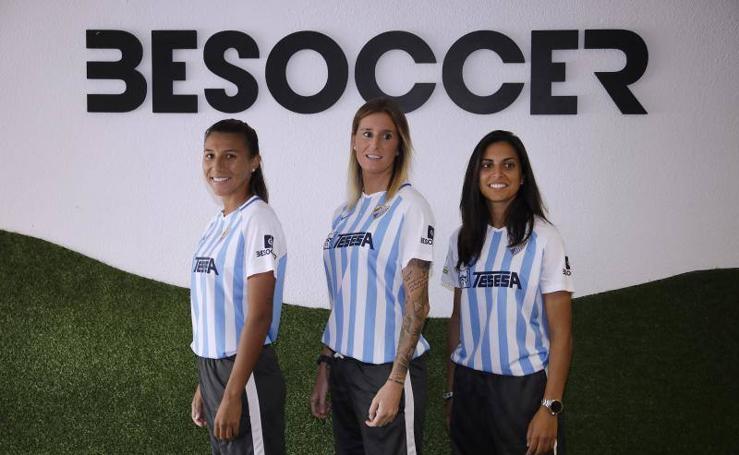 El Málaga femenino se estrena en su feudo