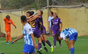 Un ágonico gol en el añadido da el primer punto al Málaga