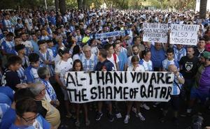 Los Pequeños Accionistas del Málaga piden una reunión con el alcalde