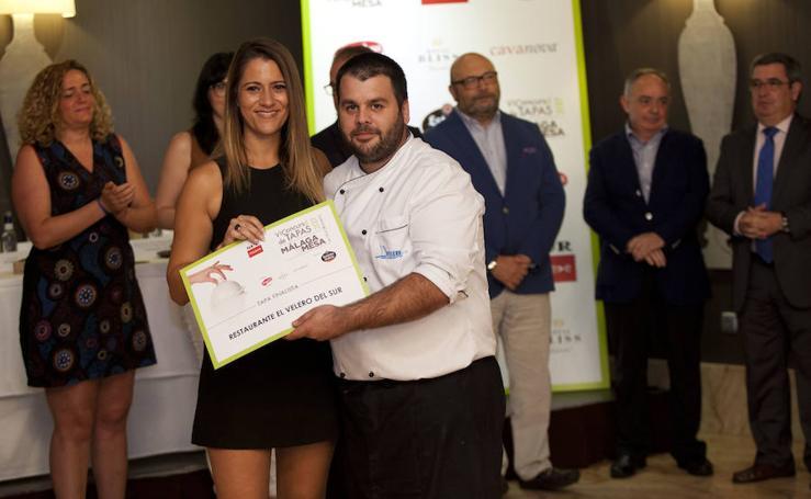 El Concurso de Tapas de Málaga en la mesa, en fotos