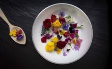 Flores en el plato, el ingrediente más bello