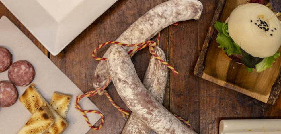 Salchichón de Málaga, también en la cocina