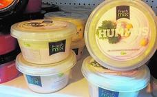 Hummus con sello malagueño