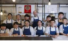El malagueño Sergio Moreno puede convertirse en el ganador del 'Master Chef' chino